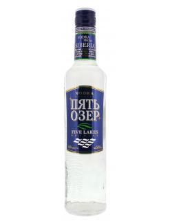 Dovgan Five Lakes Special Vodka  (500 ml) - 4601728011932