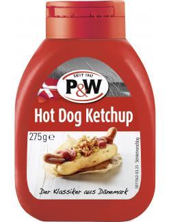 P&W Original Dänischer Hot Dog Ketchup  (255 ml) - 4001812008600