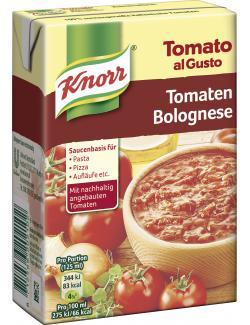 Knorr Tomato al Gusto Tomaten-Bolognese  (370 g) - 8712566202102