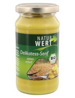 NaturWert Bio Senf mittelscharf  (200 ml) - 4035633191005