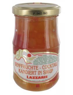 Lazzaris Senffrüchte-Cocktail in Sirup kandiert  (150 g) - 4008314164933