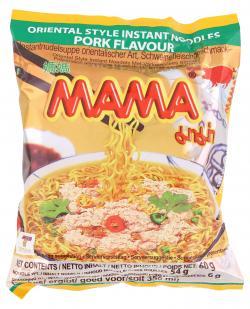 Mama Instantnudeln Schweingeschmack  (60 g) - 8850987101076