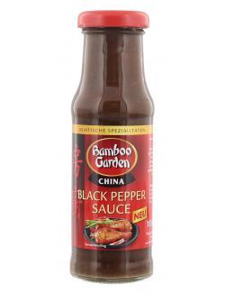 Bamboo Garden Black Pepper Sauce China  (155 ml) - 4023900542988