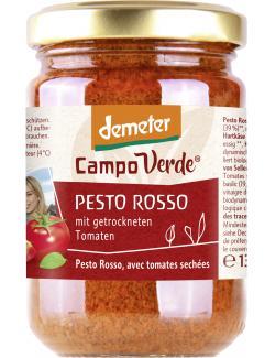 Demeter Campo Verde Bio Pesto Rosso  (130 g) - 4045178003817