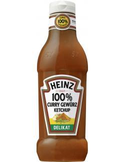 Heinz 100% Curry Gewürz Ketchup delicat  (590 ml) - 8715700419596