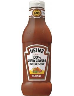 Heinz 100% Curry Gewürz Hot Ketchup scharf  (590 ml) - 8715700419619