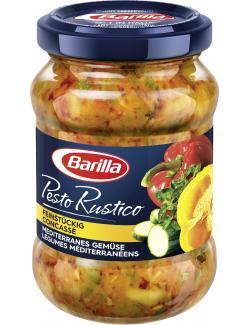 Barilla Pesto Rustico mediterranes Gemüse  (175 g) - 8076809568074