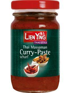 Lien Ying Thai Massaman Curry-Paste scharf  (125 g) - 4013200881450