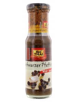 Real Thai Woksauce schwarzer Pfeffer  (150 ml) - 8858135000141