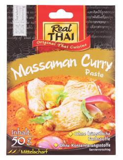 Real Thai Massaman Curry Paste  (50 g) - 8858135001865