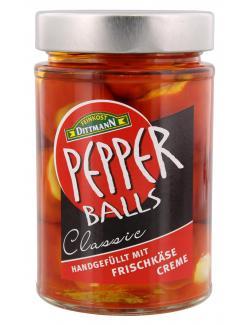 Feinkost Dittmann Pepperballs Classic Frischkäse  (160 g) - 4002239650007