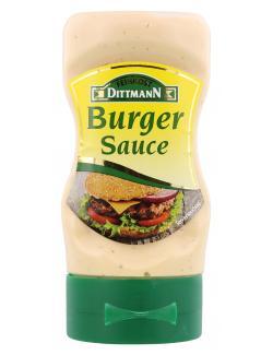 Feinkost Dittmann Burger Sauce  (210 ml) - 4002239707824