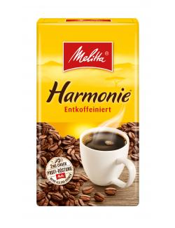 Melitta Harmonie Kaffee entkoffeiniert  (500 g) - 4002720000496