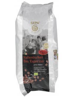 Gepa Bio Original Italienischer Espresso ganze Bohne  (1 kg) - 4013320093443