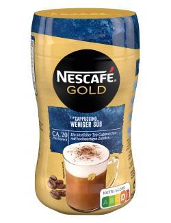 Nescafé Cappuccino weniger süß  (250 g) - 7613032569556