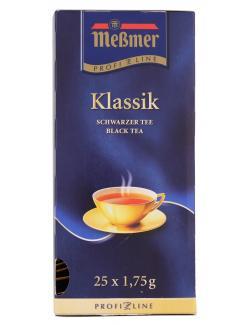 Meßmer ProfiLine Klassik  (25 x 1,75 g) - 4002221001862