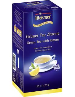 Meßmer ProfiLine Grüner Tee Zitrone  (25 x 1,75 g) - 4002221001909