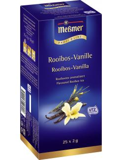 Meßmer ProfiLine Rooibos-Vanille  (25 x 2 g) - 4002221009882
