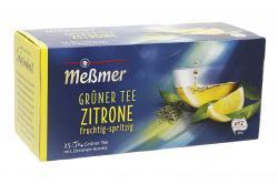 Meßmer Grüner Tee Zitrone  (25 x 1,75 g) - 4001257283501