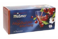 Meßmer Milde Hagebutten-Mischung  (25 x 3 g) - 4001257152005