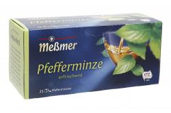 Meßmer Pfefferminze  (25 x 2,25 g) - 4001257153002