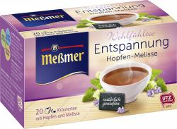 Meßmer Entspannung Hopfen-Melisse  (20 x 2 g) - 4002221006522