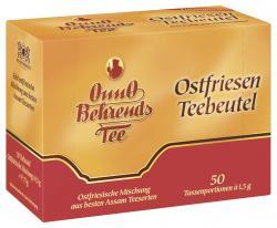 Onno Behrends Ostfriesen Teebeutel Tassenbeutel  (50 x 1,50 g) - 4000491001513