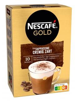 Nescafé Cappuccino Cremig Zart  (10 x 14 g) - 5011546460444