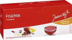 Jeden Tag Früchtetee  (25 x 3 g) - 4306188051909