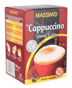 Massimo Cappuccino cremig & zart  (10 x 17 g) - 4021155117326