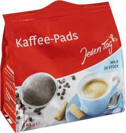 Jeden Tag Kaffeepads mild  (140 g) - 4306188059738