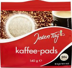 Jeden Tag Kaffeepads kräftig  (140 g) - 4306180084691
