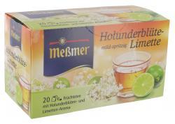 Meßmer Holunderblüte-Limette  (20 x 2,25 g) - 4002221024014