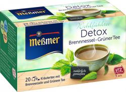 Meßmer Detox Brennnessel Grüner Tee  (20 x 2 g) - 4002221023970