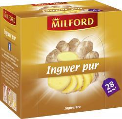 Milford Ingwer pur  (28 x 2 g) - 4002221024687