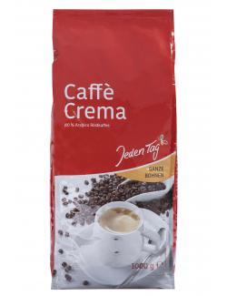 Jeden Tag Caffè Crema ganze Bohnen  (1 kg) - 4306188330325