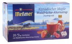 Meßmer Kanadischer Maple Waldfrüchte-Ahornsirup  (20 x 2,25 g) - 4002221027084