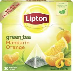 Lipton Green Tea Mandarin Orange Pyramidenbeutel  (36 g) - 8722700210658