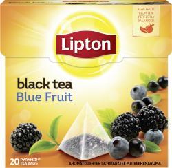 Lipton Black Tea Blue Fruit Pyramidenbeutel  (36 g) - 8712100768880