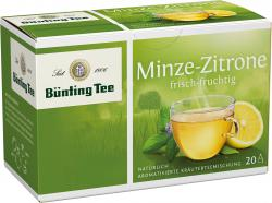 Bünting Minze-Zitrone  (20 x 2 g) - 4008837218298
