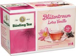 Bünting Lotus Vanille Tee  (20 x 2 g) - 4008837220550