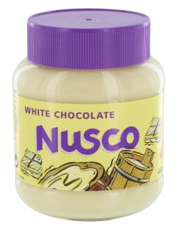 Nusco White Chocolate Schokocreme  (400 g) - 8710573541559