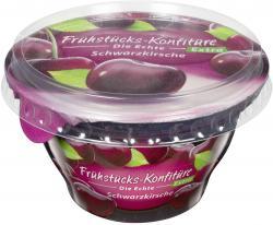 Zentis Frühstücks-Konfitüre die Echte Extra Schwarzkirsche  (200 g) - 4002575327632