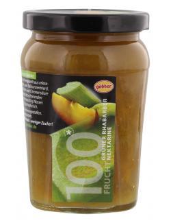 Göbber 100 Frucht Grüner Rhabarber-Nektarine  (310 g) - 4054600751127
