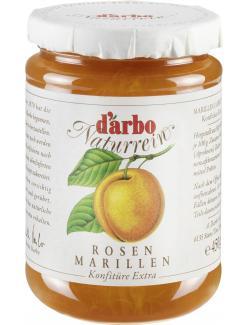 Darbo Naturrein Rosen Marillen Konfitüre extra  (450 g) - 9001432002205