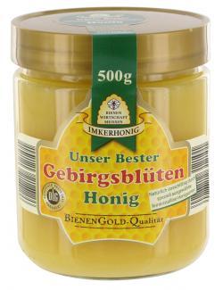 Bienenwirtschaft Meissen Gebirgsblütenhonig  (500 g) - 4028712312101