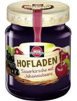 Schwartau Hofladen Sauerkirsche-Johannisbeere  (320 g) - 4011800088026