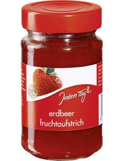 Jeden Tag Fruchtaufstrich Erdbeere  (250 g) - 4306188336631