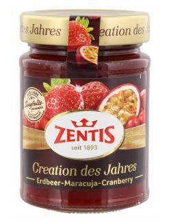 Zentis Creation des Jahres Erdbeer-Maracuja-Cranberry  (295 g) - 4002575524031