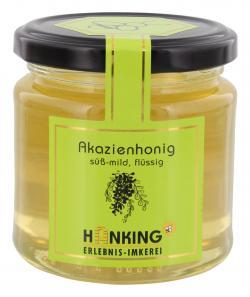 Hanking Akazienhonig - 100 % deutscher Honig  (250 g) - 4260135482539